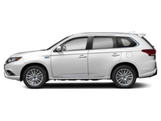 Pearl White 2020 Mitsubishi Outlander PHEV Pictures Outlander PHEV SEL S-AWC photos side view