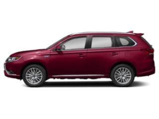 Red Diamond 2020 Mitsubishi Outlander PHEV Pictures Outlander PHEV SEL S-AWC photos side view