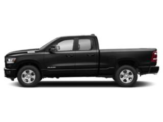 Diamond Black Crystal Pearlcoat 2020 Ram Truck 1500 Pictures 1500 HFE 4x2 Quad Cab 6'4 Box photos side view