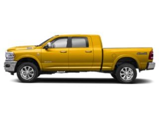 Yellow 2020 Ram Truck 2500 Pictures 2500 Lone Star 4x4 Mega Cab 6'4 Box photos side view