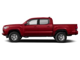 Barcelona Red Metallic 2020 Toyota Tacoma 4WD Pictures Tacoma 4WD TRD Off Road Double Cab 6' Bed V6 AT photos side view