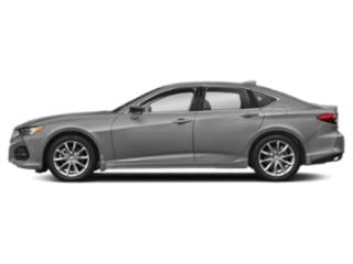 Lunar Silver Metallic 2021 Acura TLX Pictures TLX FWD photos side view