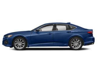 Fathom Blue Pearl 2021 Acura TLX Pictures TLX FWD photos side view