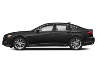 Majestic Black Pearl 2021 Acura TLX Pictures TLX FWD photos side view