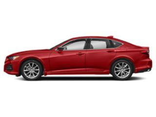 Performance Red Pearl 2021 Acura TLX Pictures TLX FWD photos side view