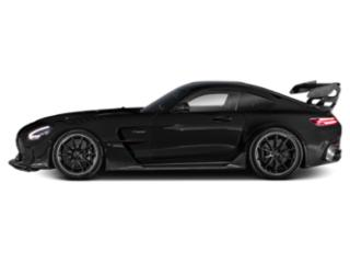 Obsidian Black Metallic 2021 Mercedes-Benz AMG GT Pictures AMG GT AMG GT Black Series Coupe photos side view