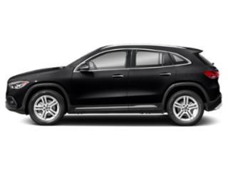 Night Black 2021 Mercedes-Benz GLA Pictures GLA GLA 250 SUV photos side view
