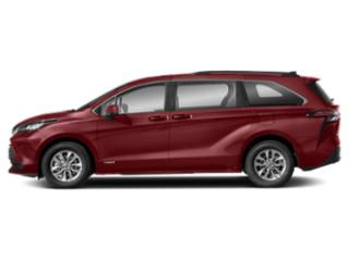 Ruby Flare Pearl 2021 Toyota Sienna Pictures Sienna LE AWD 8-Passenger photos side view