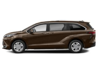 Sunset Bronze Mica 2021 Toyota Sienna Pictures Sienna LE AWD 8-Passenger photos side view