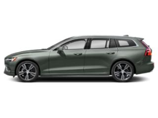 Pine Grey Metallic 2021 Volvo V60 Pictures V60 T5 FWD Momentum photos side view