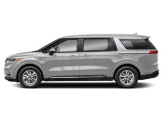 Silky Silver 2022 Kia Carnival Pictures Carnival LX FWD photos side view