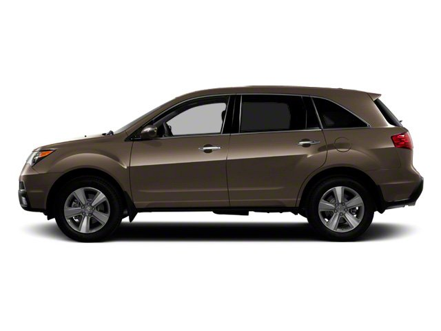 Mocha Metallic 2010 Acura MDX Pictures MDX Utility 4D AWD photos side view