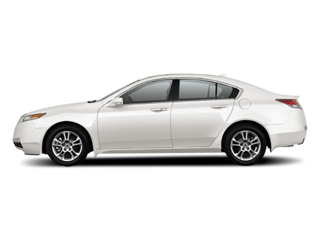 White Diamond Pearl 2010 Acura TL Pictures TL Sedan 4D AWD photos side view