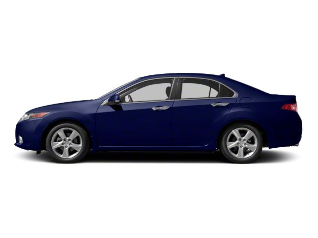 Vortex Blue Pearl 2010 Acura TSX Pictures TSX Sedan 4D photos side view