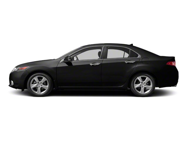 Crystal Black Pearl 2010 Acura TSX Pictures TSX Sedan 4D Technology photos side view