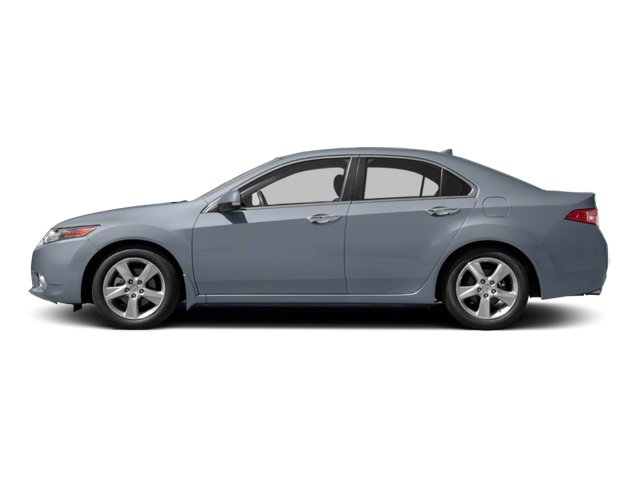 Glacier Blue Metallic 2010 Acura TSX Pictures TSX Sedan 4D photos side view