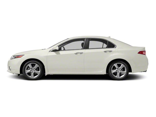 Premium White Pearl 2010 Acura TSX Pictures TSX Sedan 4D photos side view