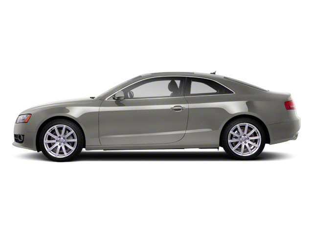 Sahara Silver Metallic 2010 Audi A5 Pictures A5 Coupe 2D Quattro Prestige photos side view