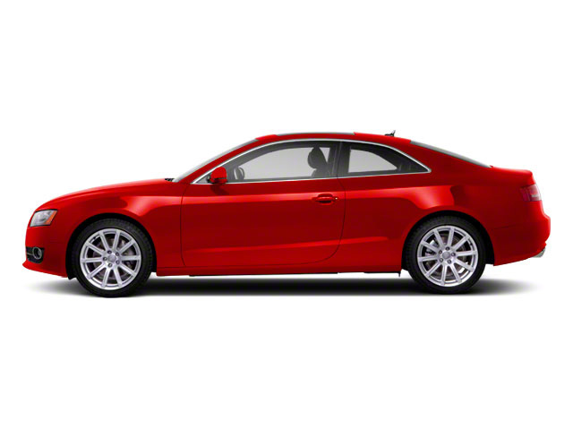 Brilliant Red 2010 Audi A5 Pictures A5 Coupe 2D Quattro photos side view