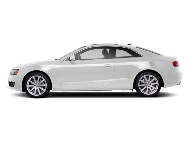 Ibis White 2010 Audi A5 Pictures A5 Coupe 2D Quattro photos side view