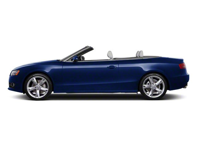 Deep Sea Blue Pearl 2010 Audi A5 Pictures A5 Convertible 2D Quattro Premium Plus photos side view