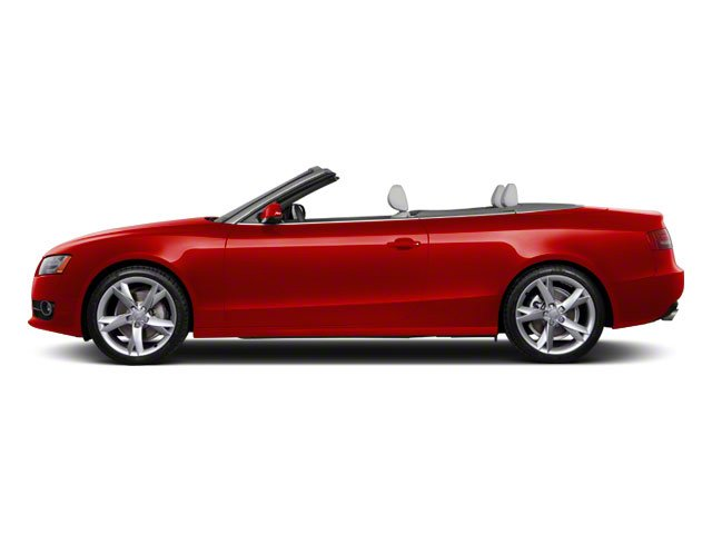 Brilliant Red 2010 Audi A5 Pictures A5 Convertible 2D Quattro Premium Plus photos side view