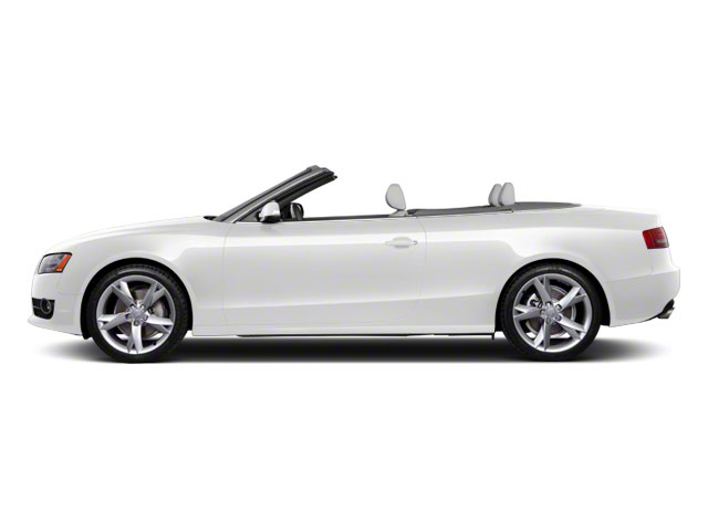 Ibis White 2010 Audi A5 Pictures A5 Convertible 2D Quattro Premium Plus photos side view