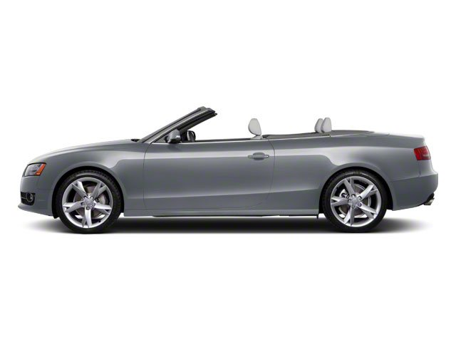 Meteor Gray Pearl 2010 Audi A5 Pictures A5 Convertible 2D Quattro Premium Plus photos side view