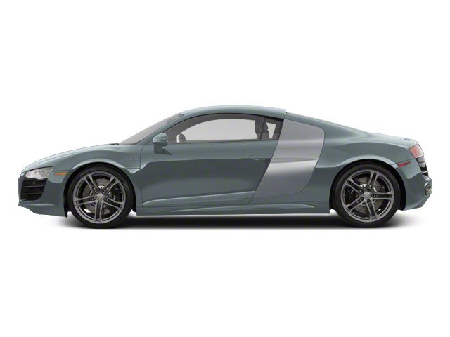 Jet Blue Metallic With Ice Silver Sideblades 2010 Audi R8 Pictures R8 2 Door Coupe Quattro 5.2l (manual) photos side view