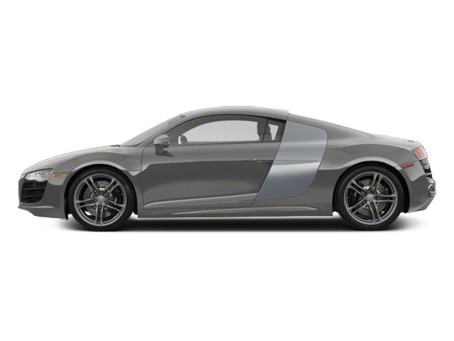 Daytona Gray Pearl With Quartz Gray Sideblades 2010 Audi R8 Pictures R8 2 Door Coupe Quattro 5.2l (manual) photos side view