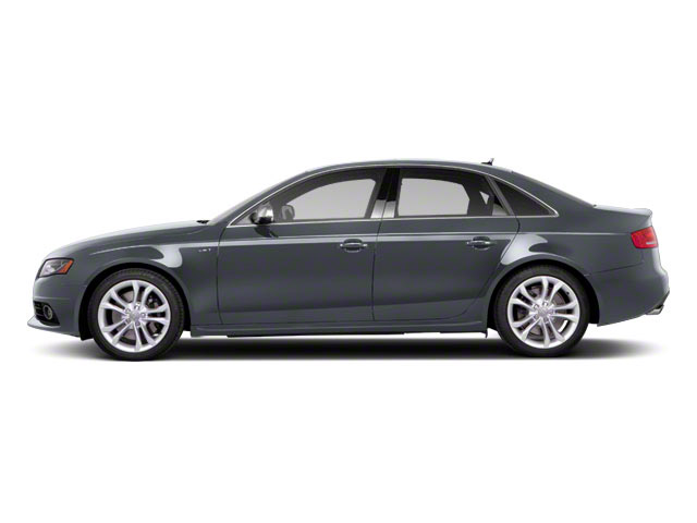 Quartz Gray Metallic 2010 Audi S4 Pictures S4 Sedan 4D Quattro photos side view