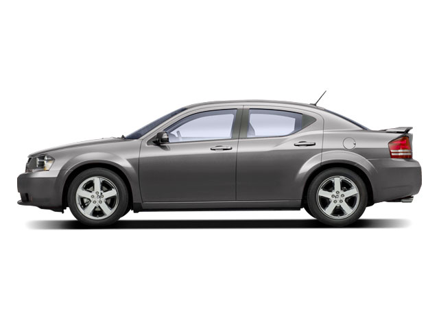 Silver Steel Metallic 2010 Dodge Avenger Pictures Avenger Sedan 4D R/T photos side view