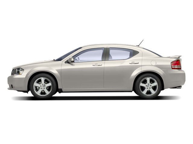 Stone White 2010 Dodge Avenger Pictures Avenger Sedan 4D R/T 2.7 photos side view