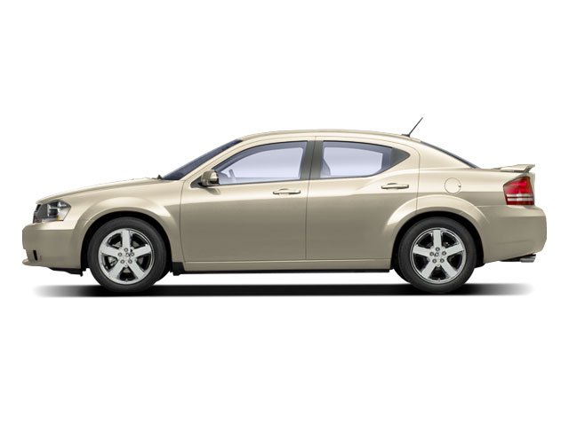 White Gold 2010 Dodge Avenger Pictures Avenger Sedan 4D R/T photos side view