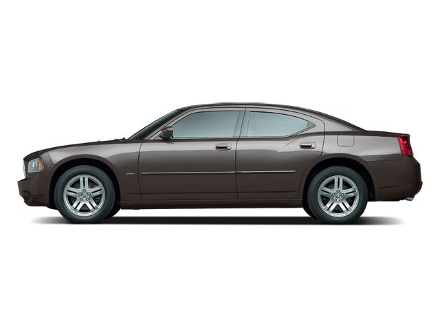 Dark Titanium Metallic 2010 Dodge Charger Pictures Charger Sedan 4D Police photos side view