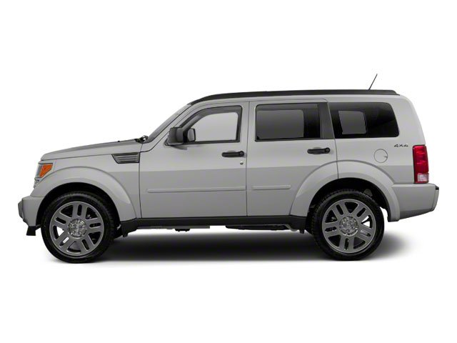Bright Silver Metallic 2010 Dodge Nitro Pictures Nitro Utility 4D SE 2WD photos side view
