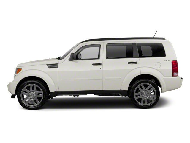 Stone White 2010 Dodge Nitro Pictures Nitro Utility 4D Shock 2WD photos side view