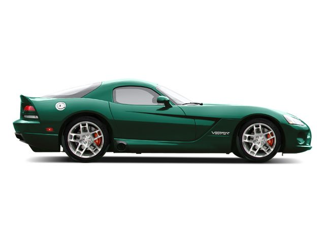 Anaconda Green Pearl 2010 Dodge Viper Pictures Viper 2 Door Coupe photos side view