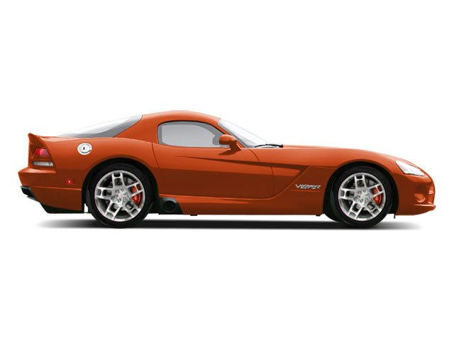 Viper Very Orange Pearl 2010 Dodge Viper Pictures Viper 2 Door Coupe photos side view
