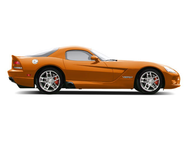Toxic Orange Pearl 2010 Dodge Viper Pictures Viper 2 Door Coupe photos side view
