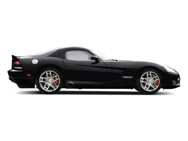 Viper Black 2010 Dodge Viper Pictures Viper 2 Door Coupe photos side view
