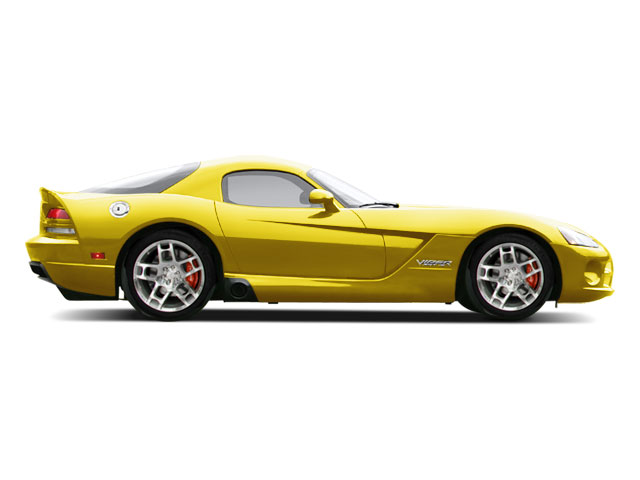 Viper Race Yellow 2010 Dodge Viper Pictures Viper 2 Door Coupe photos side view