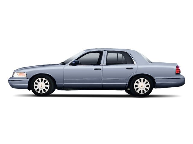 Norsea Blue Metallic 2010 Ford Crown Victoria Pictures Crown Victoria Sedan 4D S photos side view