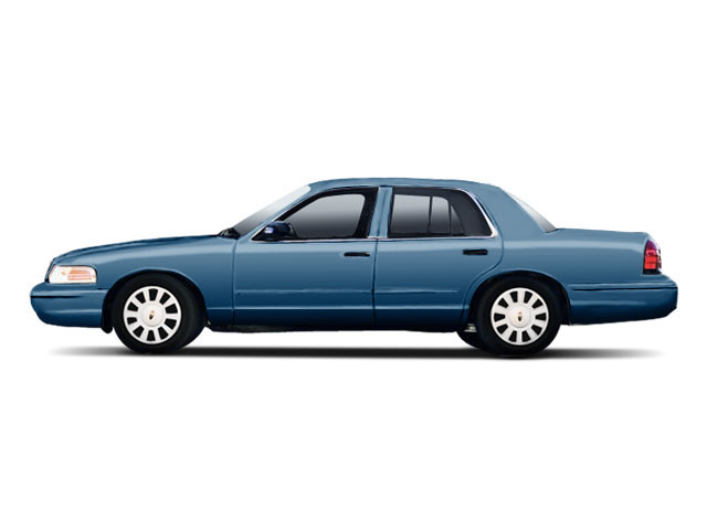 Royal Blue 2010 Ford Crown Victoria Pictures Crown Victoria Sedan 4D S photos side view