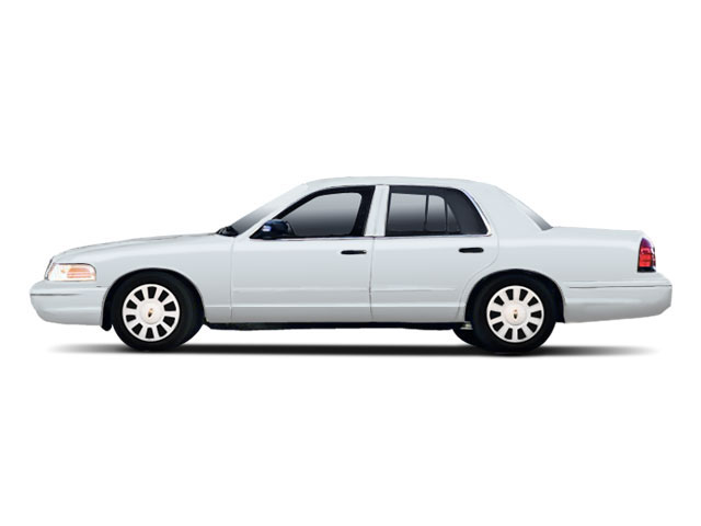 Light Blue Metallic 2010 Ford Crown Victoria Pictures Crown Victoria Sedan 4D S photos side view