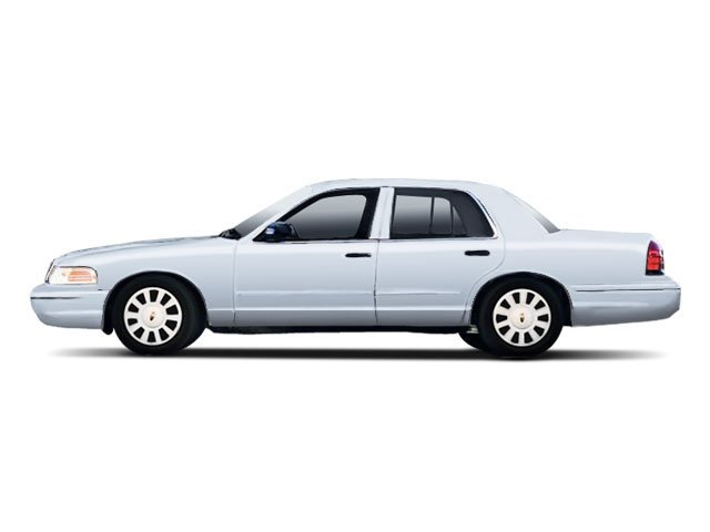 Light Ice Blue Metallic 2010 Ford Crown Victoria Pictures Crown Victoria Sedan 4D S photos side view