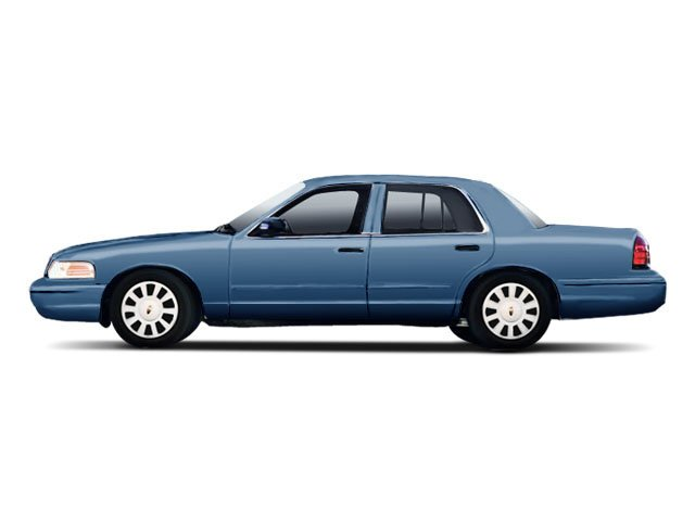 Ultra Blue Metallic 2010 Ford Crown Victoria Pictures Crown Victoria Sedan 4D S photos side view