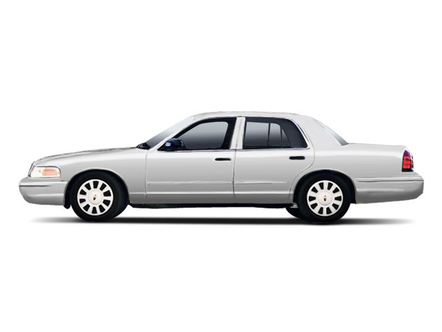 Light Grey 2010 Ford Crown Victoria Pictures Crown Victoria Sedan 4D S photos side view