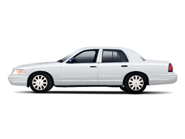 Silver Grey Metallic 2010 Ford Crown Victoria Pictures Crown Victoria Sedan 4D S photos side view