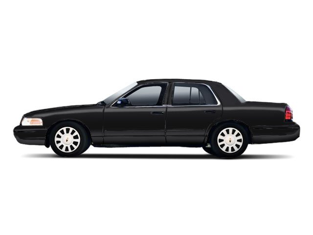 Black 2010 Ford Crown Victoria Pictures Crown Victoria Sedan 4D S photos side view